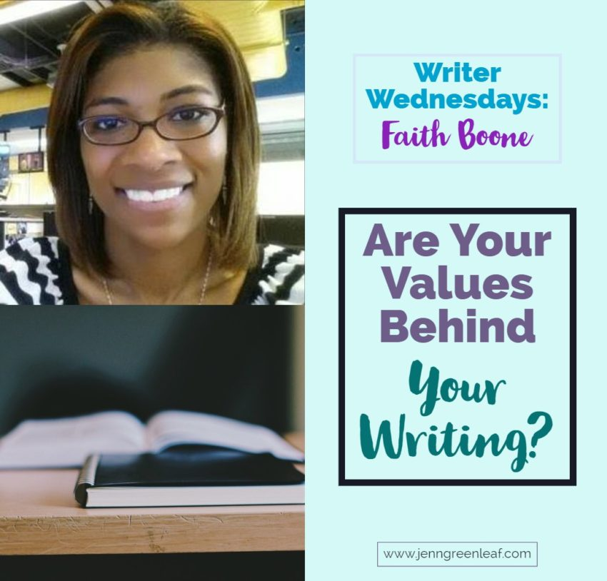 Writer Wednesdays Faith Boone